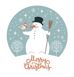 Christmas new years card vector