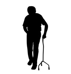 disabled man vector image