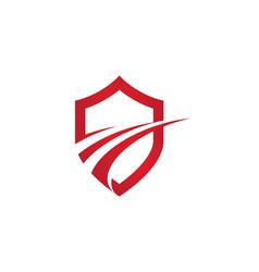 faster logo template icon design vector image