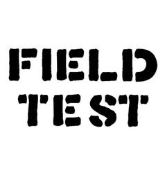 Field test stamp typ vector