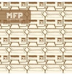 Mfp seamless pattern vector