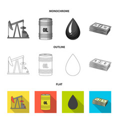 railway tank chemical formula oil price chart vector image