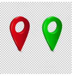 Set bright map pointers vector