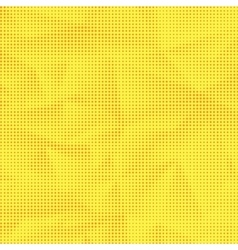 Set of Halftone Dots Dots on Yellow Background vector