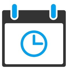 Time Calendar Day Toolbar Icon vector
