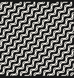 Wavy lines seamless sea art pattern vector