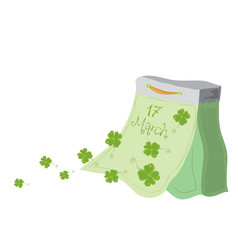 very lucky st patricks day vector image