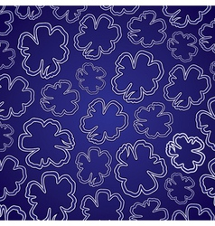 abstract colorful flower pattern vector image vector image