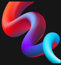 fluid color background liquid shape vector image