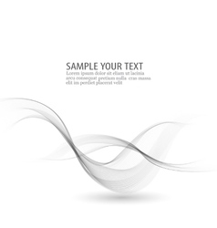 Abstract background gray smoke wave gray vector