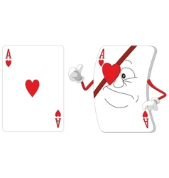 Playing card set vector image