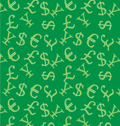 Money background vector image