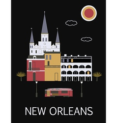 New Orleans USA vector image vector image