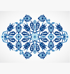Arabesque vintage damask floral decoration lace pr vector