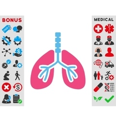 Breathe System Icon vector image