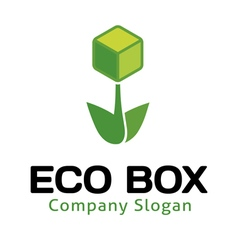 Eco Box Design vector