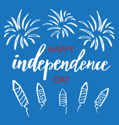 Fourth of july independence day vector
