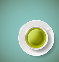 Green tea Stock vector