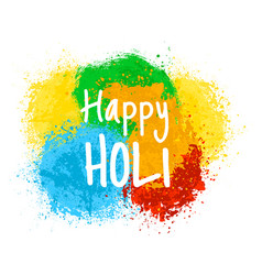 Indian holiday holi vector