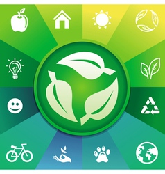 recycle concept vector image vector image
