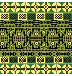 african ornaments vector image vector image