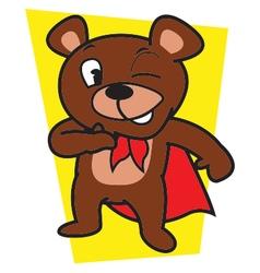 Mighty bear vector