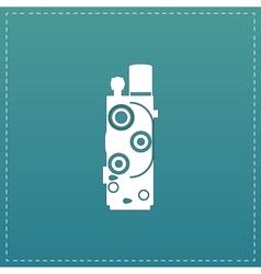 Retro Movie camera vector image vector image
