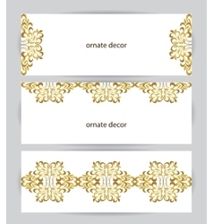 Element for design template vector image vector image