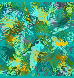 artistic summer grunge seamless pattern vector image vector image