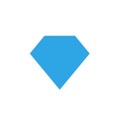 diamond shape graphic design template vector image