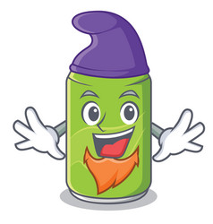 Elf soft drink character cartoon vector