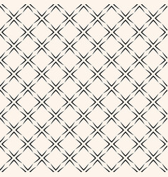 Geometric seamless pattern with square grid vector