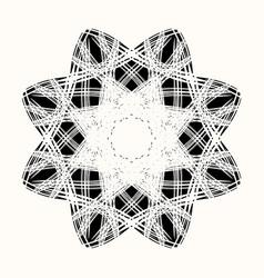 sacred star 0007 vector image