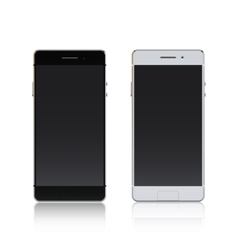 Smartphone Black And White vector