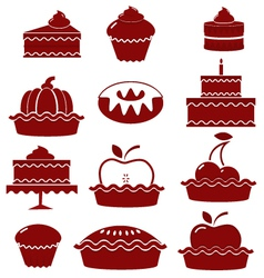 Sweet pastry vector image