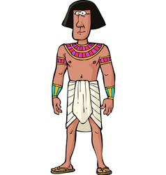 ancient egyptian citizen vector image vector image