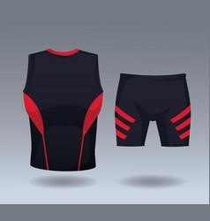 male sport wear vector image
