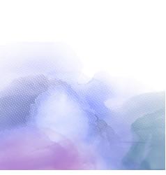 abstract watercolour texture vector image vector image