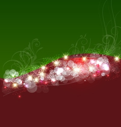 Christmas background template card vector image vector image