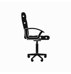 Office chair icon simple style vector image vector image