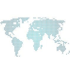 vector abstract world map vector image