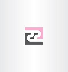 number twenty two 22 icon logo element vector image