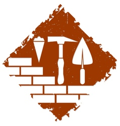 Construction symbol design vector image