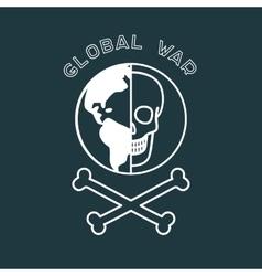 Global War Poster vector image