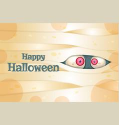 Happy halloween postcard template vector