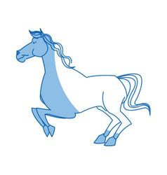 horse caurosel game carnival celebration image vector image