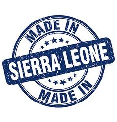 Made in Sierra Leone vector