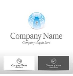 realty logo design vector image