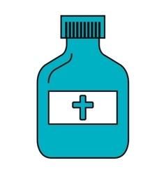 Medical healthcare theme design icon vector image vector image