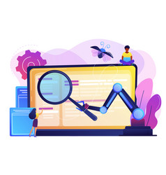 Automated testing concept vector